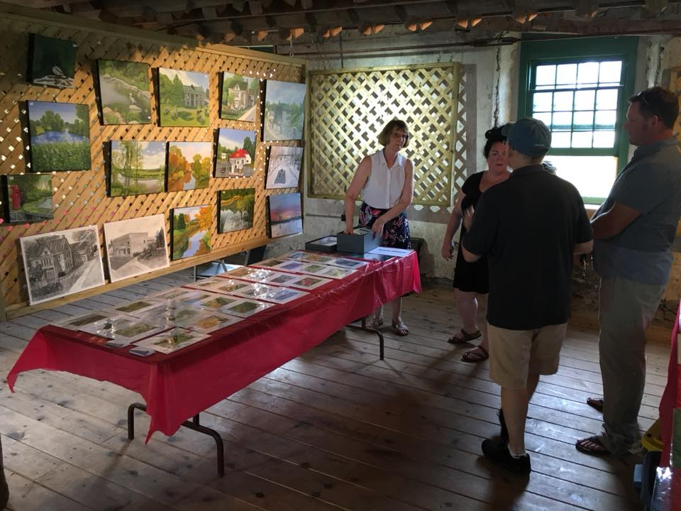 Old Grist Mill Martintown exhibition