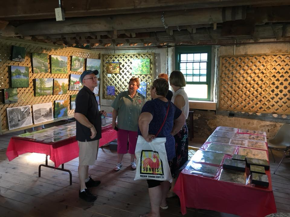 Martintown Old Grist Mill exhibition